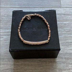 Micheal Kors Rose Gold Bracelet